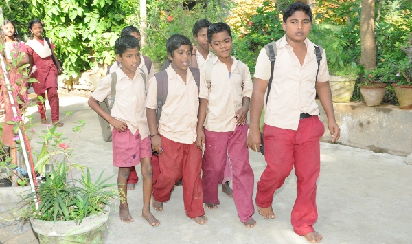 Newlife Children going to near government school