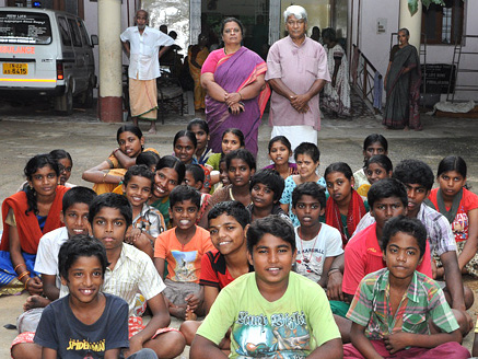 What we are Doing... Founder with childrens