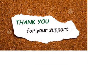 thank you support
